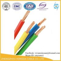 Quality 600V  90℃/75℃/60℃ Copper Conductor, PVC Insulated TW / THW / THHW cable wholesale