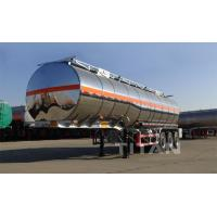 China TITAN 30000-60000 liters stainless steel oil tanker truck trailers for sale on sale
