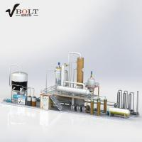 China Waste Used Engine Oil Distillation Recycling To Diesel Refinery Plant on sale
