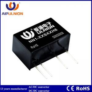 Quality 1W 5V 12V 15V 24V Single Dual Unregulated Output DC Power Module High Isolation Voltage 6KV DC DC Converter wholesale