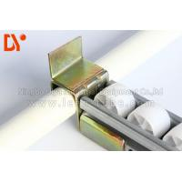 Quality Sheet Metal Industrial Roller Track , Work Table Mini Roller Track Anti - Corrosion wholesale