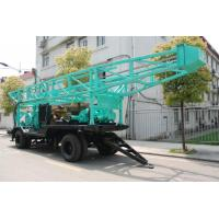 Quality High Speed Water Drilling Rig With Turnplate Rotary 11.6m Height Drill Tower wholesale