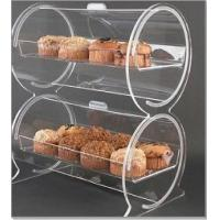 "Quality Double Drum Acrylic Bakery Display Case Container 18"" x 12"" x 22"" wholesale"