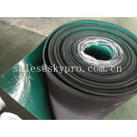Double layer anti-static rubber matting rolls / ESD rubber flooring sheet roll