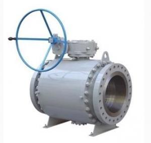 "Quality API 6D forging trunnion ball valve of 2""-56"" CL150-2500 OEM Service wholesale"