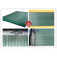 Quality Lightweight Rectangle Oil Vibrating Screen 1050x695 Mm Size API RP 13C Standard wholesale