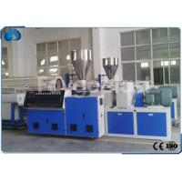 Quality Electric Conduit PVC Double Pipe Making Machine Twin Screw Extruder 250kg per hour wholesale