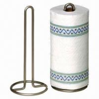 China Wire Kitchen Paper Towel Holder for Kitchen Room Use on sale