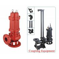Quality Electric 1.1kw Cast Iron Sewage Pump 304/316L Stainless Steel Head 10m wholesale