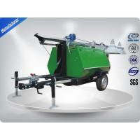Quality Portable LED Light Towers / Telescoping Mast Trailer Mounted Light Towers wholesale