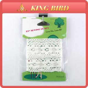 Quality Domestic DIY Lace Patches For Accessories Lace Ribbon Trim Cotton Lace wholesale