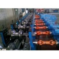 Quality Automatic Highway W-Beam Guardrail Roll Forming Line 5-12m/Min wholesale