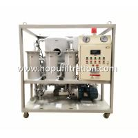 Frame Double Stage Vacuum Transformer Oil filtration plant, Dielectric Mineral Insulation Oil Dehydration factory