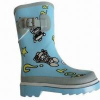 Quality Rubber rain boots/children's fashion boots, comfortable and durable wholesale