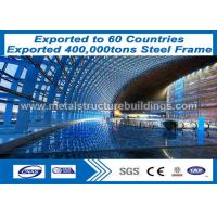 Buy cheap High Strength Q345 Steel Wide Span Building , Prefabricated Building Structure from wholesalers