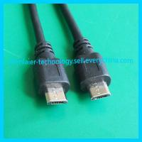 Quality V2.0 Double Micro USB Data Cable for Mobile Phone wholesale