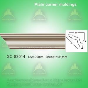 Quality PU foam cornice moulding ideas for ceiling decoration wholesale