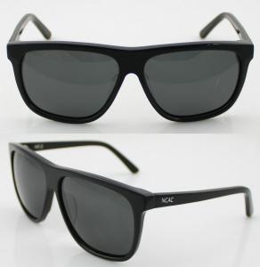 Cheap Unisex Orange Acetate Frame Sunglasses , Modern Wayfarer Sunglasses for sale
