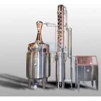 Quality 200L 500L 1000L Red Copper Alcohol Vodka Pot Still Distiller wholesale