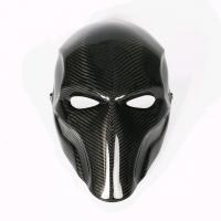Quality Professional Custom Carbon Fiber Mask For Halloween Party SGS Approved wholesale