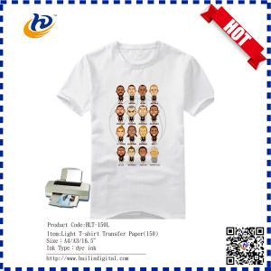 China Best Quality T-shirt Heat Transfer Paper Dark Cotton Iron-on T-shirt Transfer Paper on sale