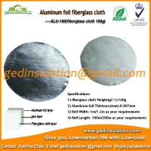 Quality aluminum coated fabric wholesale