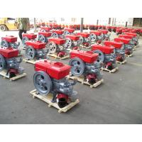 Quality 12 horse power single cylinder 4 stroke diesel engine swirl combustion system S195 wholesale