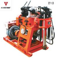 Quality 100m High Torque Portable Core Drilling Equipment With Horizontal Single Cylinder Piston Pump wholesale