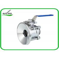 Quality Special design Tank Bottom Ball Valve Port Diameter 1/2 - 4 , Manual Type wholesale