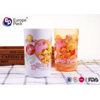 China Customized Printing Strong Childrens Plastic Mugs Without Holder  270ml 9.5OZ for sale