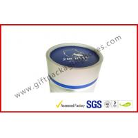 China Offset Printed Cylindrical Wine Packaging Boxes , Embossed Custom Paper Board Packaging Boxes on sale