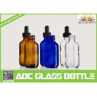 Cheap 50ml Dropper Bottle,Boston Round Glass Dropper Bottles for sale