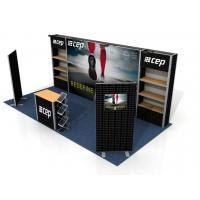 Quality Custom Print Trade Show Booth Displays , Exhibition Portable Trade Show Booths wholesale