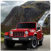 """Cheap 60W 7"""" Fog Jeep LED Headlights With Hi / Lo H4 Or H13 For Wrangler JK for sale"""
