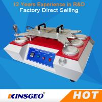 Quality 150kg 6 Heads Abrasion Textile Testing Machine With Grips Manual / Automatic Operation wholesale