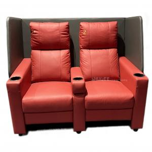 Quality Contemporary Home Cinema System With Couple VIP Seating With Colorful Design wholesale