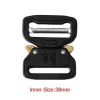 Quality 38mm Strong Quick Release Cobra Insert Buckle , Durable Tactical Belt Buckle wholesale