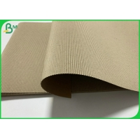 China 120g 150g Brown Corrugated Paper Board Roll For Mailer Box Eco - friendly on sale