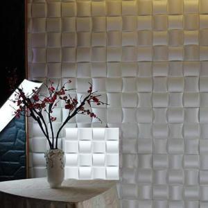 Quality Waterproof Plastic 3D Textured Wall Panels Faux Stone Composite PVC wholesale