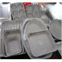 China Food Aluminium Foil Container Tray With Lids Aluminium Roasting Pan on sale