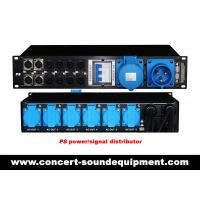 Buy cheap P8 P4 Power / Signal Distributor For Line Array Speaker Systems In Concert And Living Event from wholesalers