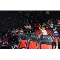 Quality Crazy 6D Movie Theater , 6D Motion Simulators Experience With Many Kinds Of Special Effects wholesale