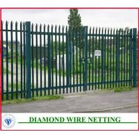Buy cheap Euro welded fence( palisade fence) from wholesalers