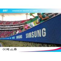 China High Performance Soccer Advertising Boards , Perimeter Advertising Led Display on sale