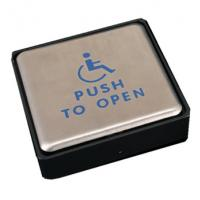 China Stainless Steel Push To Open Switch , Handicap Push To Open Button For Door on sale