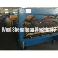 Quality 10 Ton Corrugated Roll Forming Machine For Roof Panel Making 0.2 - 0.9mm Thickness wholesale