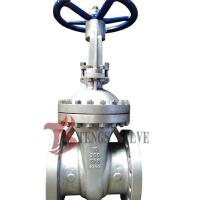 Quality Cast Stainless Steel Gate Valve A351 CF8 SS304 300LB With Bolted Bonnet Design wholesale