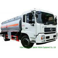 Buy cheap Large Capacity Oil Tanker Truck , Fuel Delivery Tankers With DFA Chassis from wholesalers