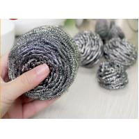 Quality Household Cleaning Metal Scouring Ball Helical Structure Not Easy To Drop Crumbs wholesale