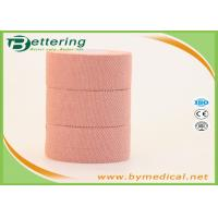 China Elastic Adhesive Bandage Tape , Elastoplast Finger Protection Tape For Wound Dressing on sale